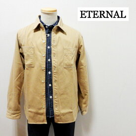 ETERNAL エターナル ヘビーフランネルシャツ【52100】日本製