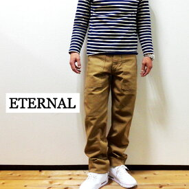 ETERNAL (エターナル) ストレッチドリルベイカーパンツ52188