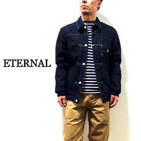 """SALE♪ETERNAL エターナル """"52211""""袖切替デニムジャケット(ワンウォッシュ)"""