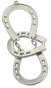 蹄鉄 立体パズル知恵の輪キャストパズル ホースシュー・馬蹄難易度:2 はずるHUZZLE