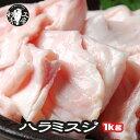 噛むほどに 和牛 の旨みがお口に広がる おつまみに 煮込みに 卸店の厳選宮崎県産 黒毛和牛 希少 ホルモン ハラミ スジ 100g×10パック 計 1kg あす楽 バーベキューセット 肉 セット 牛ス