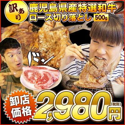 鹿児島県産特選和牛切り落とし【厚切り】500g