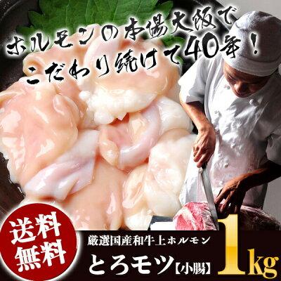 とろモツ【小腸】1キロ詳細画像1