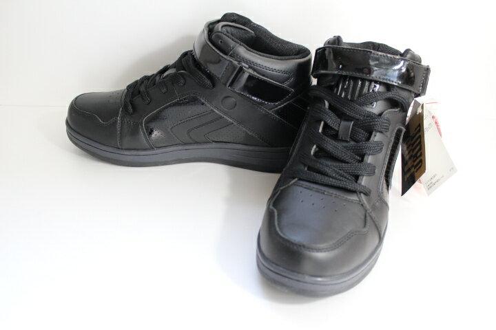 【ジェイド】JADE ELLCTRICK MEN スニーカーブーツ ダンスシューズ カジュアルにも! 大きいサイズ 27cm 27.5cm マドラス JD7001/ ブラック