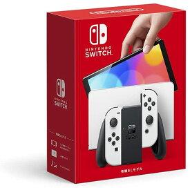 新モデル 新品 Nintendo Switch(有機ELモデル) Joy-Con(L)/(R) ホワイト