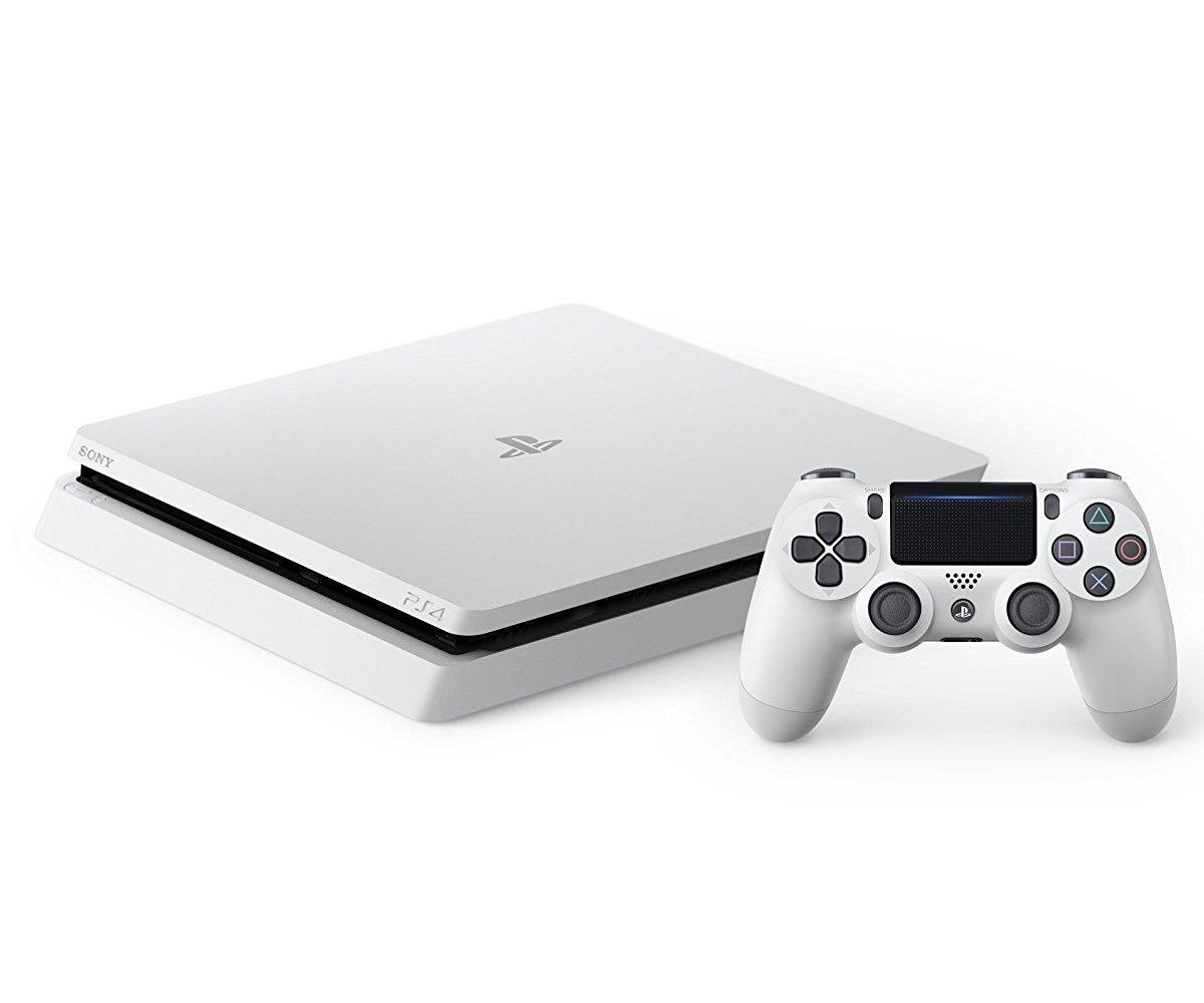 新品 PlayStation 4 本体 グレイシャー・ホワイト 500GB CUH-2200AB02