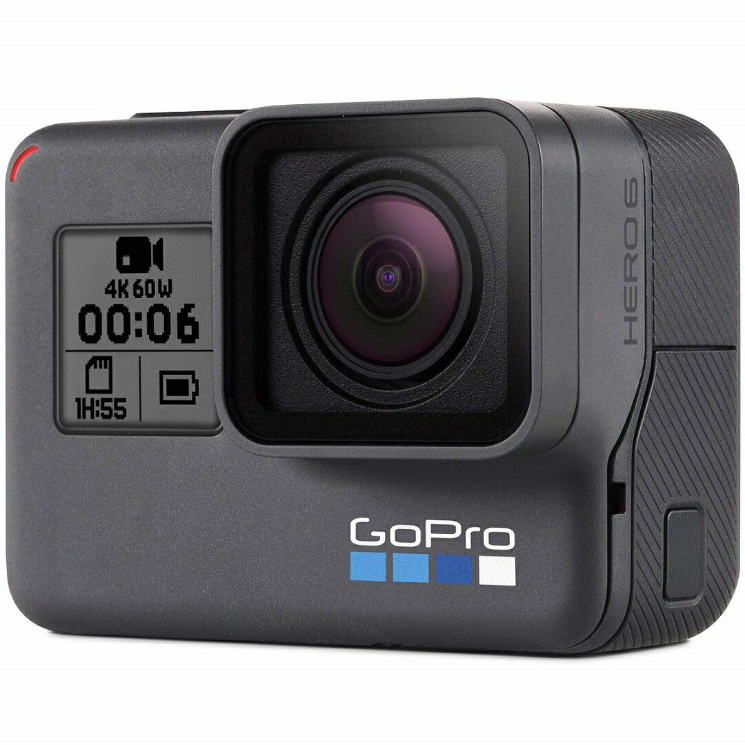 GoPro アクションカメラ HERO6 Black CHDHX-601-FW