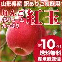 山形県産 りんご 訳あり 山形県産 紅玉 10キロ ご家庭用 小玉 産地直送 林檎 リンゴ 10kg