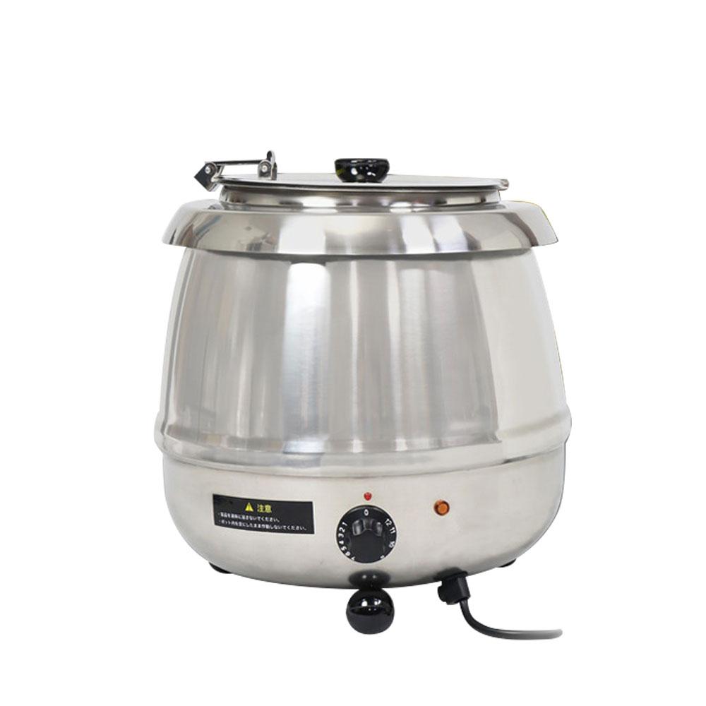 スープジャー 湯煎式 9L 業務用 保温ジャー 湯煎器 保温器 スープポット スープウォーマー卓上ウォーマー ビュッフェ バイキング スープ保温 スープウォーマーステンレス【あす楽】