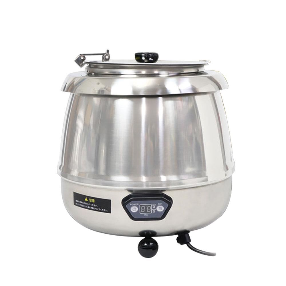 スープジャー 9L 湯煎式 業務用 湯煎器 保温器 保温ジャー スープポット スープウォーマー 卓上ウォーマー ビュッフェ バイキング スープ保温 スープウォーマー ステンレス【あす楽】