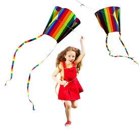 カイト 凧 凧揚げ 子供 凧上げ タコ揚げ 骨なしカイト 凧 スポーツ 外遊びキッズ 子供 おもちゃ 玩具 レジャー ピクニック 公園 キャンプ 子供のプレゼント