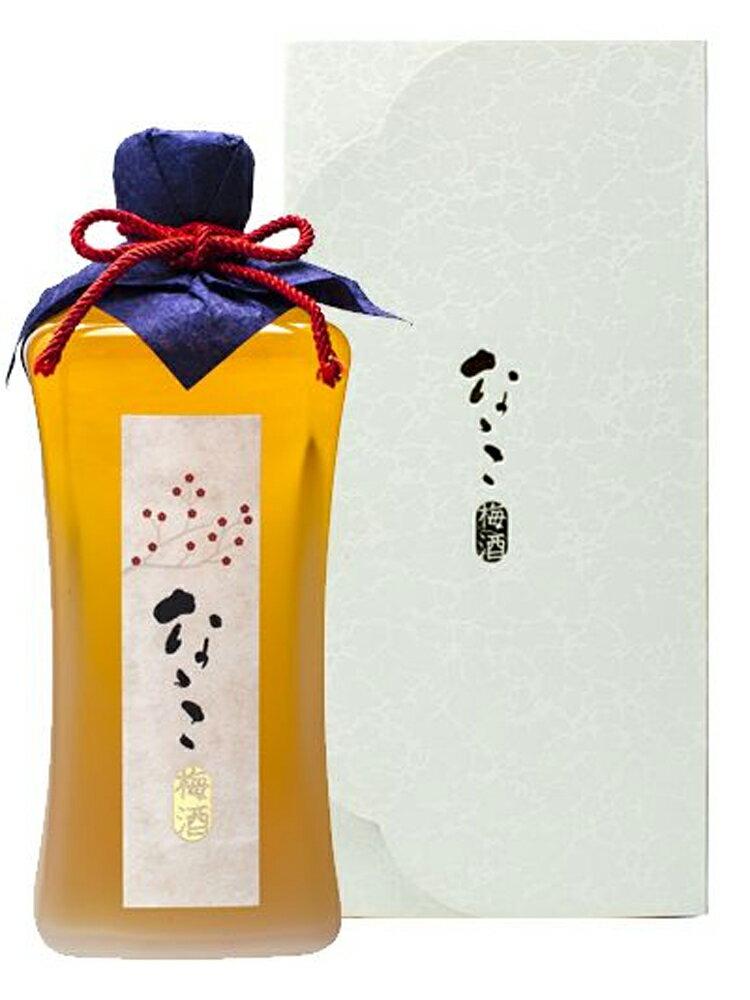 なゝこ梅酒 720ml 化粧箱入り 【九州 鹿児島 リキュール 高級 プレゼント 贈り物 父の日 敬老の日 お中元 お歳暮】