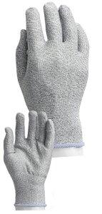 PS04 耐切創手袋 レベル5 S M L 切れない手袋 繊維製耐切創手袋 防刃手袋 耐刃手袋 ガラス繊維手袋 ツヌーガ インナー カットレジスト ケミスターパーム カットガード 切