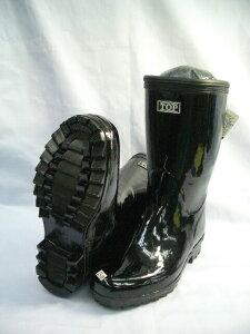 お買い得価格【軽半長靴 KR-881(KR881)】ブラック28・29・30cmまであります