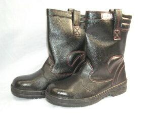 安全靴 【J-WORK#777】半長靴踏抜き防止鋼板入ポリウレタン二重底!幅広4E23.5〜30センチ