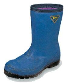 安全靴エンゼル冷蔵庫長デラックス紺(レコ4DX)(特殊安全靴) 先芯−樹脂製防寒作業靴