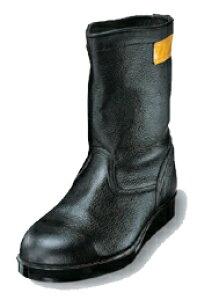 安全靴エンゼル商品名【耐熱安全靴 AT311】甲革−牛革クロム 鋼製先芯靴底:合成ゴム耐熱半長靴