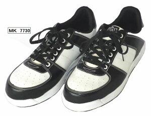 スニーカータイプ安全靴安全スニーカー【MK7730(MK-7730) MEGA SAFETY メガセーフティー】】軽量アウトソール採用で女性用サイズにも対応つま先樹脂先芯入り(JIS S級相当)(株)喜多