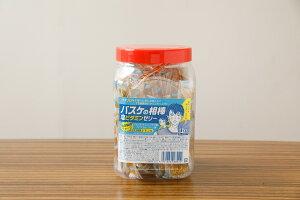 【熱中症対策・塩分補給】バスケの相棒/塩分瞬間チャージの塩ビタミンゼリー  1ボトル1kg入り(スティック状で約100本) レモン味 汗をかいて失った塩分を補うお菓子