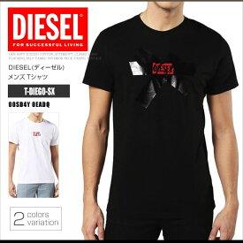 ディーゼル DIESEL Tシャツ メンズ 半袖 Tee 00SD4Y 0EADQ T-DIEGO-SX NEWロゴ DS41277SL メール便送料無料