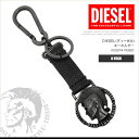 ディーゼル DIESEL キーホルダー キーリング チャーム X03974 PS890 A HEAD ブレイブマン DS8466 メール便送料無料
