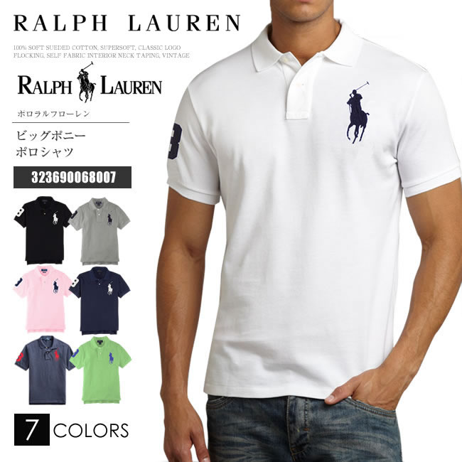 ラルフローレン ポロシャツ RALPH LAUREN POLO ポロラルフローレン メンズ ボーイズ 半袖 ビッグポニー 正規品 送料無料 2018年新作