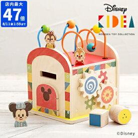 【店内最大47倍】\★ポイント5倍★送料無料★/【Disney | KIDEA BUSY BOX ミッキー&フレンズ TYKD00603】【ディズニー キディア キデア ミッキー 積み木 知育玩具 キッズ ベビー おもちゃ 1歳半から 贈り物】