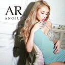 AngelR アシンメトリーバストビジュータイトミニドレス パーティードレス 結婚式 ボディコン AR21306 []