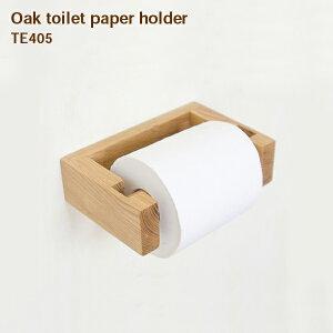 Oak Toilet Paper Holder【Oak Toilet Paper Holder トイレットペーパーホルダー トイレ 洗面所 ホルダー ペーパーホルダー 木 オーク材 インテリア デザイン おしゃれ 】