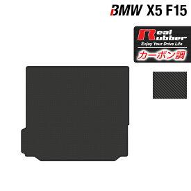 BMW X5 (F15) トランクマット ◆カーボンファイバー調 リアルラバー HOTFIELD 『送料無料 マット 車 運転席 助手席 カーマット カーペット カスタムパーツ 車用品 カー用品 日本製 ホットフィールド』