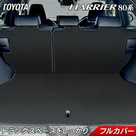 トヨタ 新型 ハリアー 80系 ラゲッジルームマット カーボンファイバー調 リアルラバー 送料無料 HOTFIELD フロア マット 車 内装パーツ カー用品 toyota