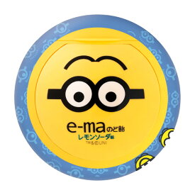 e-maのど飴 ミニオン2(6個セット)【容器タイプ】【お菓子・キャンディ】