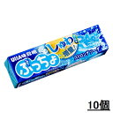 【UHA味覚糖】ぷっちょスティック ストロングソーダ (10個セット)【お菓子・キャンディ・飴】