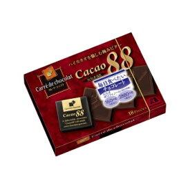 森永製菓 カレ・ド・ショコラ カカオ88 18枚×6箱  高カカオチョコレート 【チョコレート・お菓子】