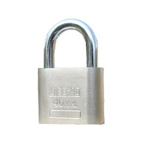 ステンレス南京錠 鍵3本付き 汎用 施錠 スーツケース LOCK40MM