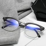 ブルーライトカット伊達眼鏡パソコン/PC用メガネ紫外線カットUVカットUV400紫外線対策CMUV3016