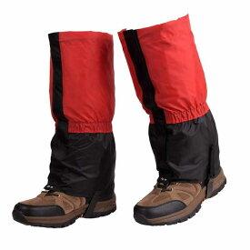 登山ゲイター ロングスパッツ フットカバー 防水 泥よけ 雨よけ 撥水加工 YL1801C