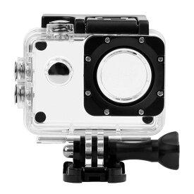 アクションカメラ用 防水ハウジングケース OEMカメラ汎用タイプ SJCAM SJ4000/ EK5000 EK7000/Lightdow LD6000/APEMAN/LEVIN/EKEN H9R/Volador等 SJ4CASE