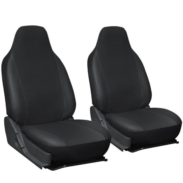 車用シートカバー 運転席/助手席 選べる3色 シートを汚れから守る 汎用品 TIROL2155