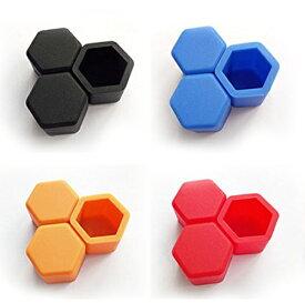 ホイールナットカバー お得な20個セット 六角形 シリコン 汎用 ネジ保護 ボルトキャップ YKCP19MM