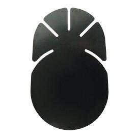 メール便可 槌屋ヤック/YAC スライドレール基台用吸盤貼付ベース φ65mm吸盤用 扇型 VP-92/