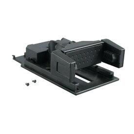 槌屋ヤック/YAC 1DINボックス用収納式スマートフォンホルダー 携帯/スマホに VP-D10/