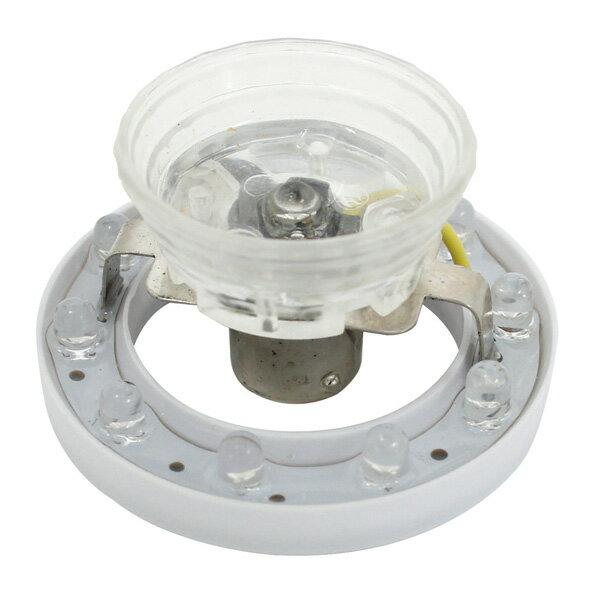 トラック LEDユニット超流星マーカーユニット ライトピンク 12/24V DC10〜32V 電圧による明るさ変化を防止 定電流回路採用/ヤック CE-38