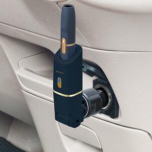 ネイビー アイコス USBタイプ 5V 1.2A 角度調整 LED IQOSホルダー USBチャージャー WA1 セイワ