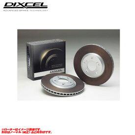 パジェロ イオ H76W 98/6〜 フロント用 HDサーキットプレイヤー用 ブレーキローター HD-3411092 ディクセル