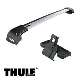 THULE/スーリー CR-V ダイレクトルーフレール付 H23/12〜 RM1,RM4 キャリア 車種別セット/9595+3118