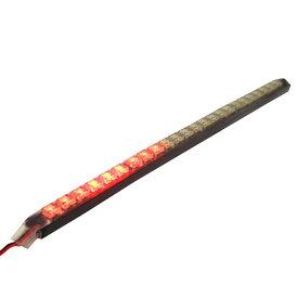 ブレイス LED24連 ナイトライダー270mm レッド 15種類に点灯点滅 BE-902/