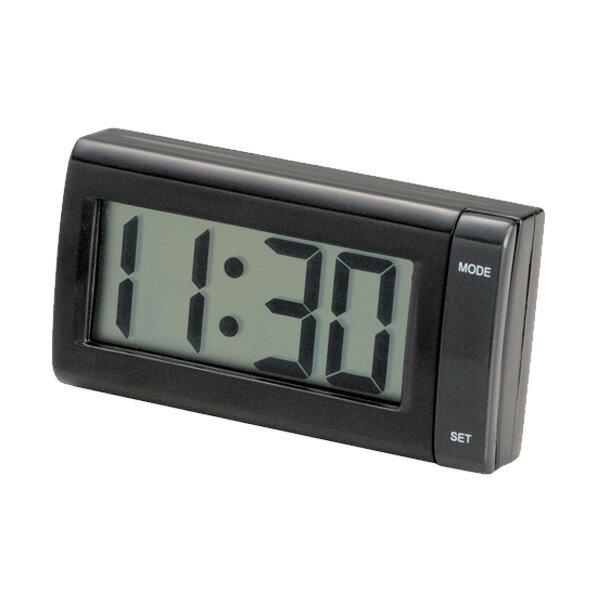 デジタル時計ジャンボクロック 配線不要・電池タイプ 大きい文字/セイワ:W851