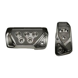 アクセルペダル ブレーキペダル GT SPEC PEDAL SET AT-SS ブラッククローム/カーメイト/CARMATE:RP109BCR