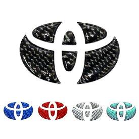ステアリングエンブレム トヨタ1 マジカルカーボンNEO 全5色 ブラック・マジョーラ アンドロメダ・ブルー・レッド・シルバー/ハセプロ